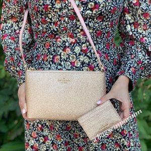 Kate Spade Joeley Crossbody Bag / cc holder Set